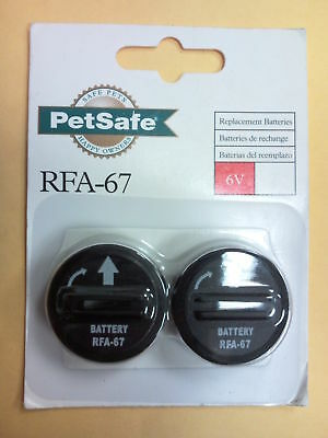 Petsafe 6 Volt Lithium Battery--#rfa-67 -11