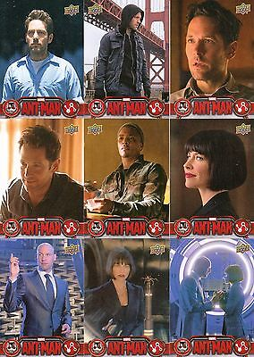 Ant Man Movie 2015 Upper Deck Complete Base Card Set Of 90 Marvel