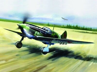 Icm 48093 - 1/48 Wwii Soviet Lagg-3 Series 7-11 Fighter - Neu