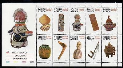 South Africa MNH 1997 Year of Cultural Experiences M/S