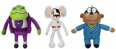 DangerMouse Small Plush with sound - Penfold Baron Greenback Danger Mouse