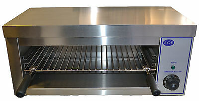 ACE NEW Electric 61cm Wide Professional Salamander Grill grilling etc