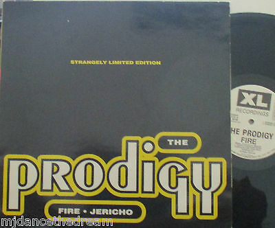 "THE PRODIGY ~ Fire / Jericho ~ 12"" Single PS"