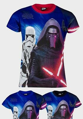 Boys Kids Star Wars T Shirt 4-12 Years