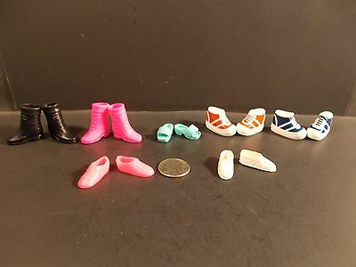 Barbie Lot Of 7 Shoes Sandals Boot B213