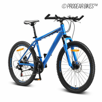 "PROGEAR SURGE MTB Mens Mountain Bike 26"" Shimano 21-Speed 17"" Alloy Frame"