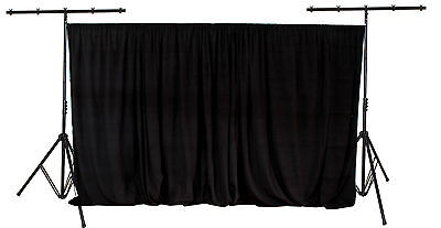 3x3m drape / lighting tripod stand with telescopic backdrop drape support bar