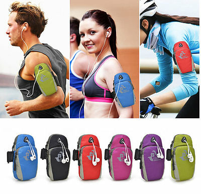 Sport Running Jogging Gym Arm Band For Phone Bag Case Holder Wallet Armband Bags
