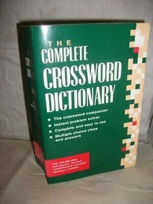 Complete Crossword Dictionary by Harringman, Ursula Paperback Book The Cheap
