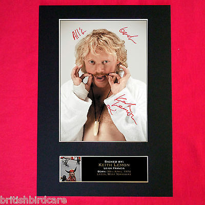 KEITH LEMON Mounted Signed Photo Reproduction Autograph Print A4 108