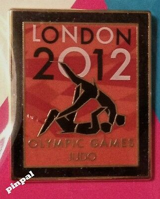 Judo Olympic Pin Badge~2012~Sports Venue~New~Mounted on Card & Sealed
