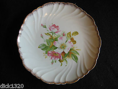 "EDWARDIAN CERAMIC ART (CROWN) POTTERY 9"" FLUTED LUNCHEON PLATE c.1903"