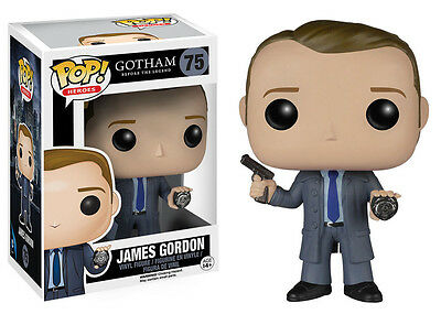 GOTHAM TV Serie POP Vinyl Figur JAMES GORDON 10cm NEU+OVP