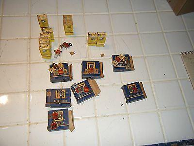 lot of 20 Misc Square D Overload relay thermal unit some B9.10 and others