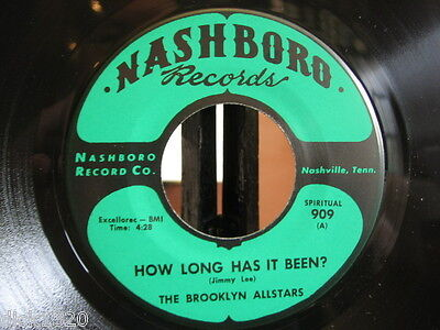 The Brooklyn Allstars How Long Has It Been? 1966 Usa Ex Copy