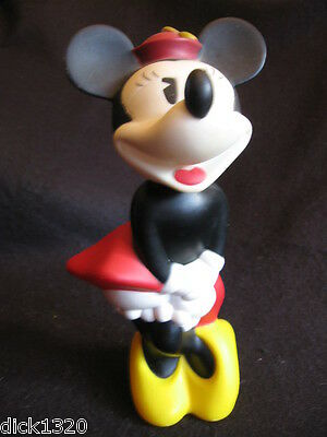 "COLLECTABLE BUBBLEBATH 9"" MINNIE MOUSE Walt Disney/Prelude Ltd 1981"