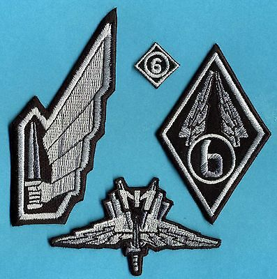 Starship Troopers Mobile Infantry Embroidered Patch Set [4]