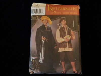 Simplicity Sewing Pattern 5925 Mens Boys Historical Hat Costumes Size XS-XL P41