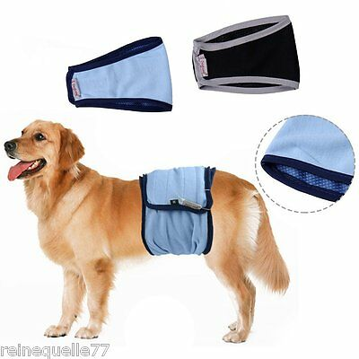 Pet Belly Wrap Band Male Dog Diaper Nappy Pant Puppy Sanitary Underwear Training