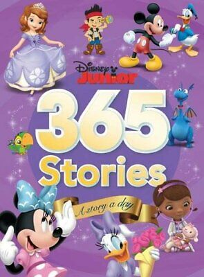 Disney Junior 365 Stories by Parragon Books Ltd Book The Cheap Fast Free Post
