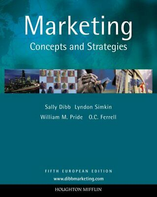 Marketing: Concepts and Strategies by Pride, William M. Paperback Book The Cheap