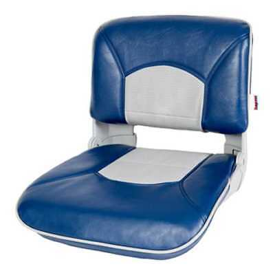 Tempress 45624 Profile Guide Series Boat Seat Blue/Gray Marine with Cushion