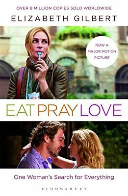 Eat, Pray, Love by Gilbert, Elizabeth Paperback Book The Cheap Fast Free Post