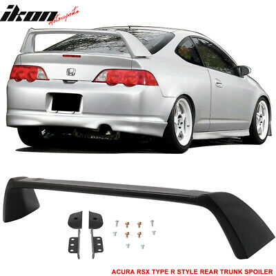 02-06 Acura RSX DC5 Type R TR Style Rear Trunk Spoiler Unpainted - ABS