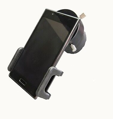 Smartphone iPhone Adapter f Okular 30-42mm bei Spektiv Teleskop, SPA-T2 + T2-D42