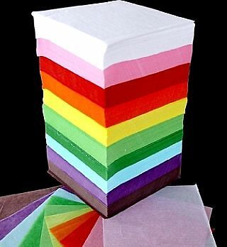 Tower of 4600 Tissue Paper - Squares | Gift Wrap Supplies
