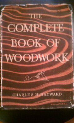 Complete Book of Woodwork by Hayward, Charles H. Book The Cheap Fast Free Post