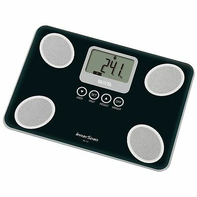 Tanita BC731BK Black InnerScan Glass Body Composition Monitor Scale BC-731 New