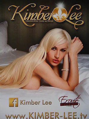 Kimber Lee Model Autogrammkarte (1)