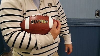 Lot Of 3 Ruffin Football Leather Grain College High School Pro Ball