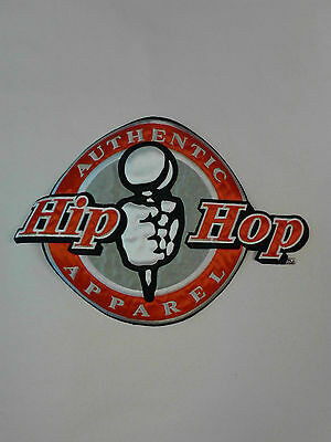 Hip Hop Iron On Jacket Patch Satin Finish Length-7In Width-10In Red,white, Black