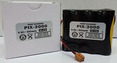 Amano Pix-3000x Operational / Reserve Battery, Amano AJR-111000 Compatible