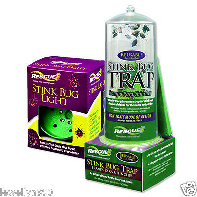 RESCUE Indoor Stink Bug Trap with Light NEW