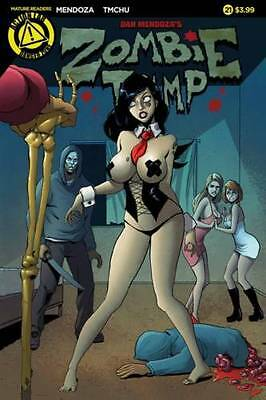 Zombie Tramp #21 cover A  variant Cover Action lab Danger zone
