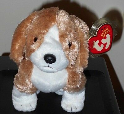 Ty Beanie Baby ~ SIDE-KICK the Dog  ~ MINT with MINT TAGS ~ RETIRED
