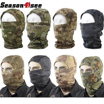 1 XTactical Military Camo Quick-drying Hood Balaclava Full Face Mask Protection