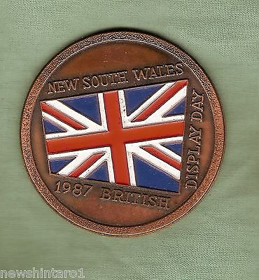 #d249.  1987  New  South  Wales British  Display  Day Medal