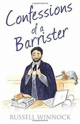 Confessions of a Barrister (The Confessions Series) by Winnock, Russell Book The
