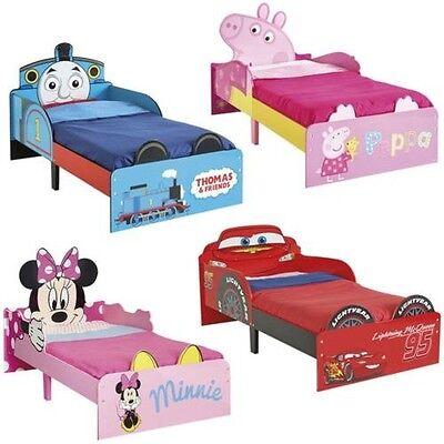 Character SnuggleTime Toddler Junior Beds – Mattress Option Available