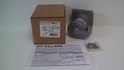 New Old Stock! Hubbell Killark 60A 3W 3P Receptacle Enclosure Vr631