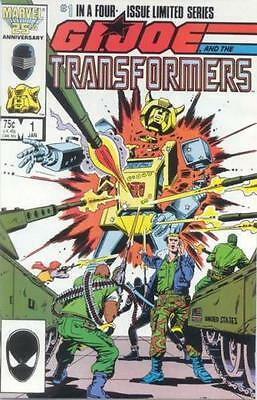GI Joe And The Transformers #1 (NM)`87 Higgins/ Trimpe