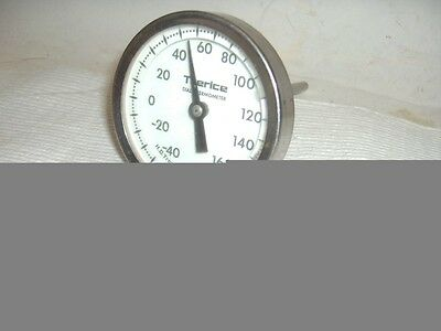 """NEW Trerice 3"""" od -40 to 160° F Stainless Steel Dial Thermometer 1/2"""" NPT"""