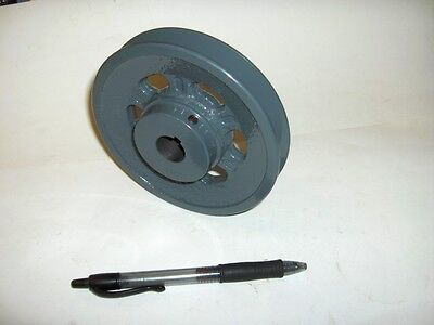 "100's of Vee Belt Pulley 5"" 4.95"" dia 1/2"" to 1 1/8"" B"