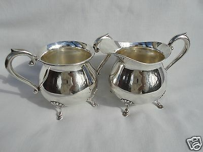 Sterling Silver Creamer and Sugar by Preisner #57