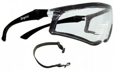 Slingshot Positive Seal Safety Glasses Clear