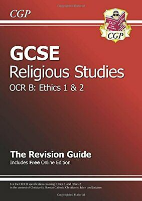 GCSE Religious Studies OCR B Ethics Revision Guide by CGP Books Paperback Book